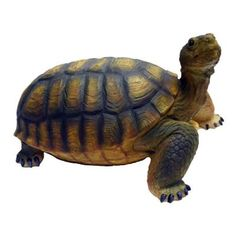 Call of The Wild 8-1/2 in. Turtle Garden Statue-89680 - The Home Depot