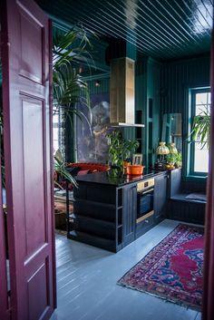 The Nordroom — Villa Betula in Norway THENORDROOM.COM -... Design Lounge, Küchen Design, Design Ideas, Style At Home, Home Interior Design, Interior Decorating, Vintage Interior Design, Interior Colors, Interior Plants
