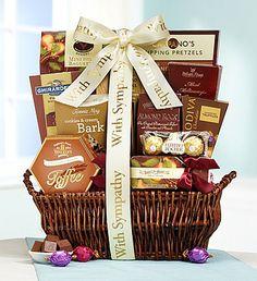 In Sympathy & Support Gift Basket