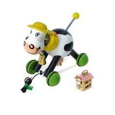 Vilac Rosy the Cow - Wooden Pull Toy