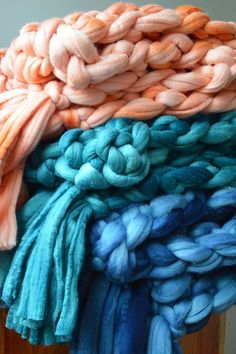 Care to cuddle? These chunky knit blankets have you covered   Shop Etsy with Cash Back at Ebates.ca