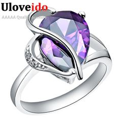 Find More Rings Information about Red/Purple Simulated Diamond Engagement Rings for Women Fashion Heart Color Stones Bijoux High Quality Anel de Zirconia J093,High Quality ring with black stone,China ring stick Suppliers, Cheap ring anode from ULove Fashion Jewelry Store on Aliexpress.com