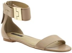 """Rachel Zoe """"Gladys"""" sandals with ankle strap - worn by Reese Witherspoon"""