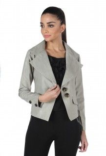 MOJO ASYMMETRIC WIDE LAPEL JACKET  Rs. 2,400