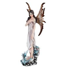 Fairy with Baby Dragonlings I