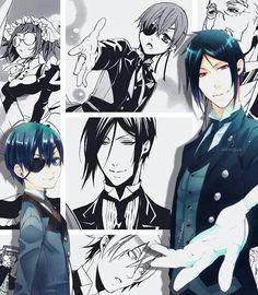 Ciel & Sebastian (Black Butler)