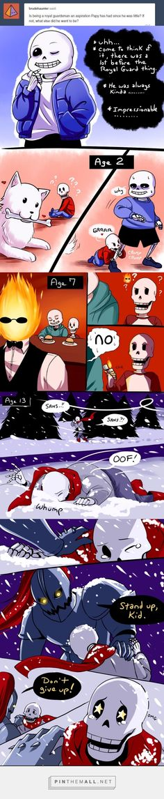 THIS IS SOOO CUTE I mean I thought Undyne and Papyrus were around the same age BUT STILL GREAT