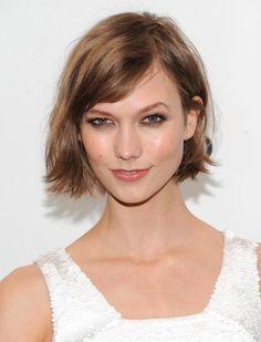 Cute hairstyle! ~ Karlie Kloss