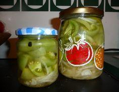 Grüne Tomaten süß-sauer eingelegt - Rezept - ichkoche.at