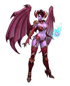 Succubus Demon, D&D, dnd, pathfinder. Fantasy Girl, Fantasy Races, Fantasy Warrior, Dark Fantasy Art, Fantasy Women, Fantasy Artwork, Fantasy Character Design, Character Design Inspiration, Character Art