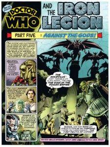 Crítica | The Iron Legion – Doctor Who Magazine #1 a 8 - Plano Crítico