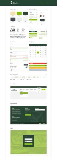 jpg by Jeremy Mansfield Ui Color, Brand Manual, Web Design, Web Themes, Design System, Web Layout, Website Design Inspiration, User Interface Design, Site Internet
