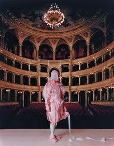 Matthew Barney as The Queen of Chain's Diva in Cremaster 5 1997