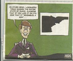 Goodbye Idaho!