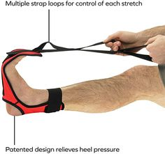 Amazon.com: OPTP Stretch-EZ - Foot and Leg Stretcher for Plantar Fasciitis, Heel Spurs, Calf, Thigh and Hip (433): Sports & Outdoors Plantar Fasciitis Brace, Foot Stretches, Pilates Equipment, Body Works, Calves, Thighs, Legs, Outdoors, Amazon