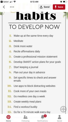 Great hacks for everyday life. New habits are great New Year's resolution for I'd like to make some new hacks. It will be a great way to improve your life Self Development, Personal Development, Life Skills, Life Lessons, Now Quotes, Wife Quotes, Friend Quotes, Habits Of Successful People, Self Care Activities