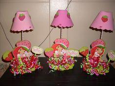 fiestas de strawberry shortcake | Lamparas - FIESTAIDEAS.com