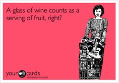 of course it does! i had a glass of fruit tonight & it was delicious.