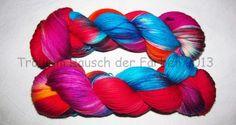 Weiteres - 4-fach Merino 420m/100g Nr.85 handgefärbt - ein Designerstück von Trollkoenigin bei DaWanda ->http://de.dawanda.com/shop/Trollkoenigin
