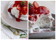 Chic, chic, chocolat...: Pavlova aux fraises pour la Battle Food #8