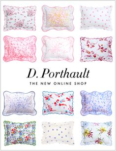 D. Porthault's new online shop!