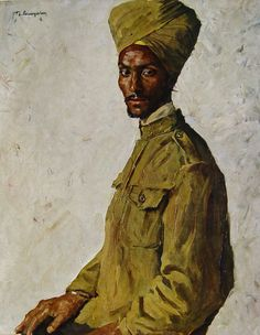 Portraits of soldiers from the WW1 by Thomas Baumgartner. c1892 - 1962
