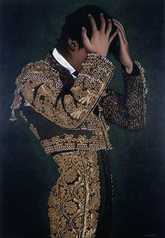 Juan Zíngaro - Ajustando la Montera - Oil on Canvas - 130 x 89 cm Matador Costume, Cosplay Tutorial, Fantastic Art, Spanish Style, Traditional Outfits, Cool Outfits, Feminine, Suits, June