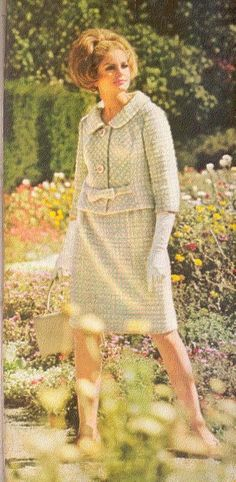 1960s Fashion, Vintage Fashion, Vintage Glam, Vogue Sewing Patterns, Pattern Books, Vintage Patterns, Supermodels, Spring Fashion, Fashion Beauty