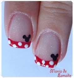 Gotta have my nails done like this for our Disney vacation