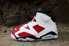 Jordan 6 carmine 1 Air Jordan 6 Retro Carmine (Releasing in Sizes for Men, Women & Kids)