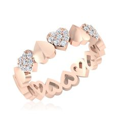 The Gladys Heart Diamond Ring