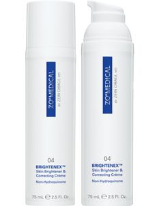 ZO Medical Brightenex.  Skin Brightener  Correcting Creme (Non-Hydroquinone) Available at Shape Cosmetic Surgery  Med Spa