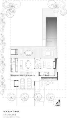 Casa Tana / Estudio Pka (planta baja)
