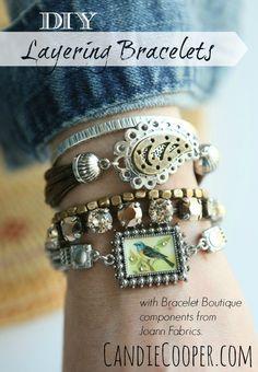 DIY Layering Bracele
