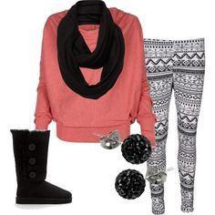 Love the leggings  scarff with the boots! Pus it all works out with a little bit of color! uggcheapshop.com    $89.99  pick it up! ugg cheap outlet and all just for lowest price # boots for this winter