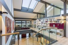 HUF HAUS Riverview - Library