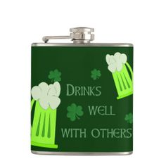 Make heads turn as you show off your Funny flask from Zazzle. Cool Flasks, St Patricks Day Drinks, Puns Jokes, Shopping Sites, You Funny, Funny Tshirts, Funny Quotes, How Are You Feeling, Wellness