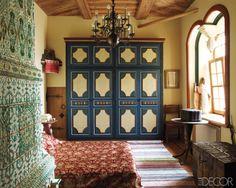 LookBook   Eclectic Bedroom   ELLE Decor