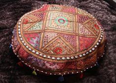 Patchwork boho Bodenkissen Sitzkissen Sitzsack bezug indisch orientalisch von TheShantiHome auf Etsy