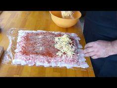 #1 vepřová roláda v slaninové krustě - YouTube Youtube, Desserts, Tailgate Desserts, Deserts, Postres, Dessert, Youtubers, Youtube Movies, Plated Desserts