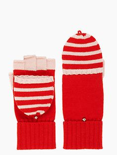 Red Mittens - Kate Spade