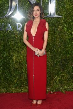 Rose Byrne wearing Delpozo at the 2015 Tony Awards
