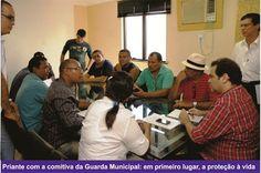 Priante quer fortalecer ações da Guarda Municipal