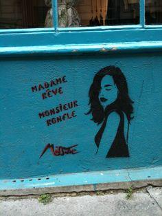 Miss Tic : rue de Montreuil Paris 11