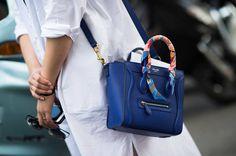 blue mini luggage
