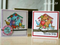 mini thank you cards