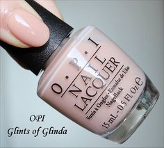Great for a very natural nail--- Elongates the fingers really well.  I did a gel manicure in it.   OPI Glints of Glinda