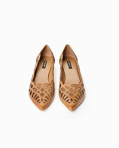 Chic Leather Flats.