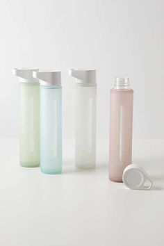 Anthropologie - Glass Water Bottle