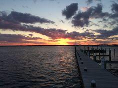 A recent sunset...
